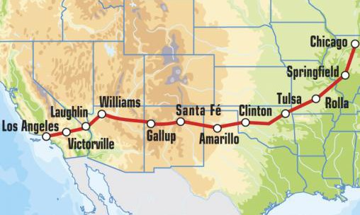 route 66_map